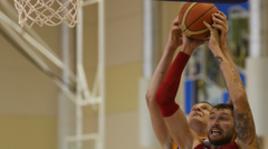 Тренировка сборной России по баскетболу
