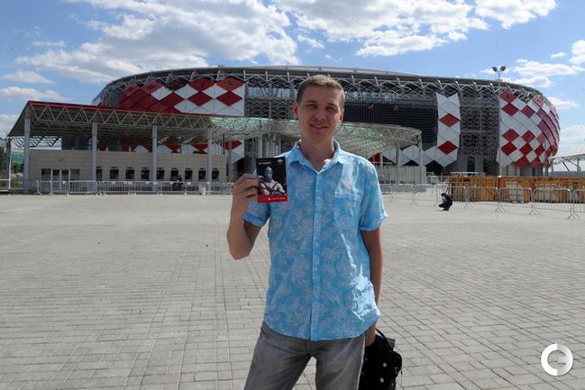 """На стадионе """"Открытие"""" уже продают абонементы на сезон"""