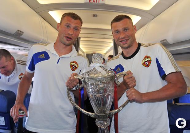 Березуцкие продлили контракты с ЦСКА на два года