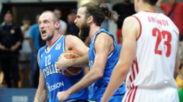 Сборная России проиграла второй матч подряд в квалификации Евробаскета-2015