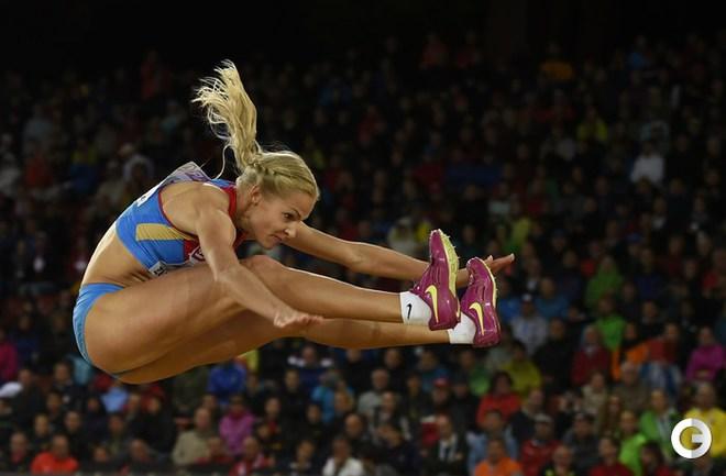 Клишина - третья на ЧЕ по легкой атлетике