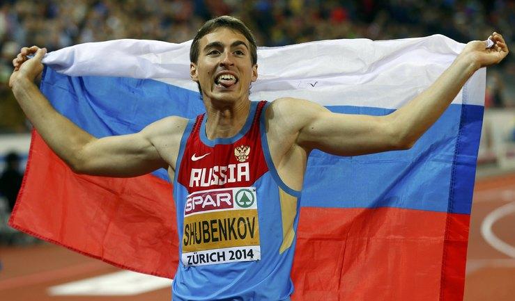Сергей Шубенков - двукратный чемпион Европы
