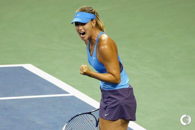 Шарапова вышла в полуфинал турнира в США