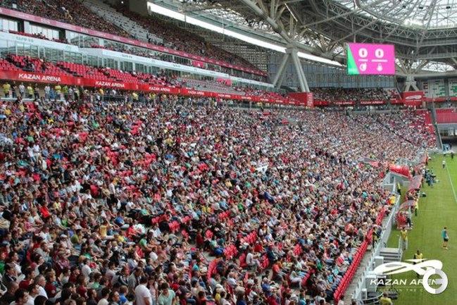В Казани открыт первый стадион ЧМ-2018