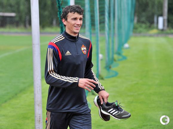 Еременко готовится к дебюту в ЦСКА