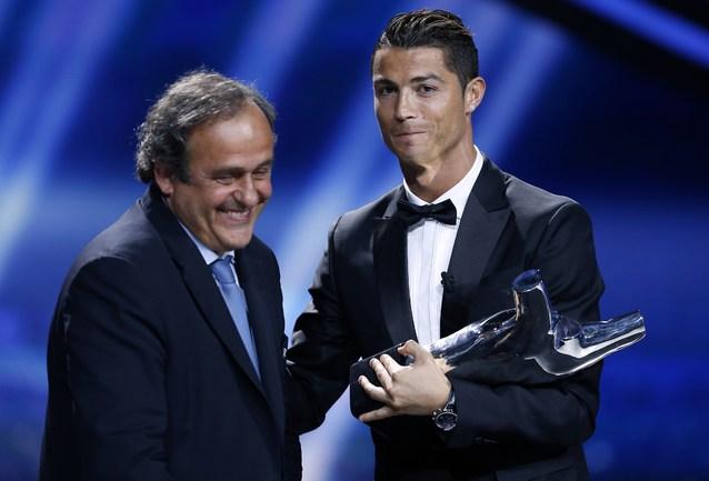 Криштиану Роналду - лучший игрок Европы