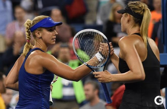 Шарапова обыграла Лисицки в третьем круге US Open