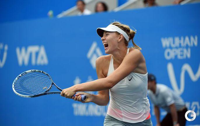 Шарапова проиграла в третьем круге турнира в Ухане
