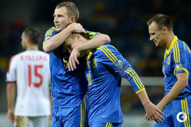 Украина в гостях обыграла сборную Белоруссии