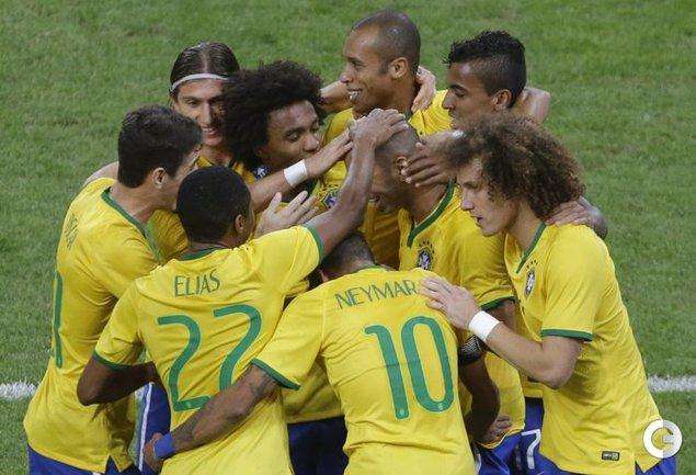 Сборная Бразилии переиграла Аргентину в Пекине