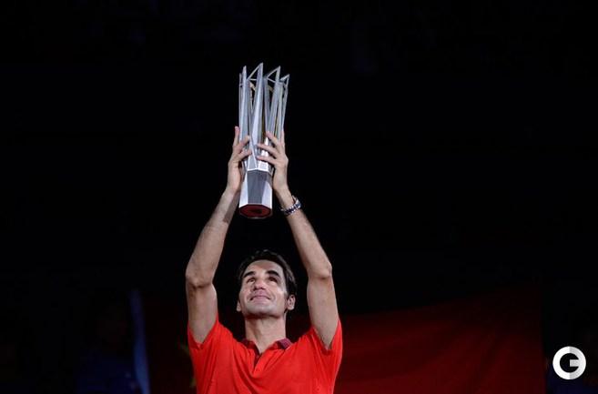 Федерер выиграл 81-й трофей в карьере