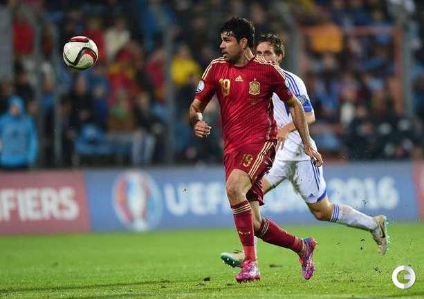Диегу Коста забил первый мяч за сборную Испании