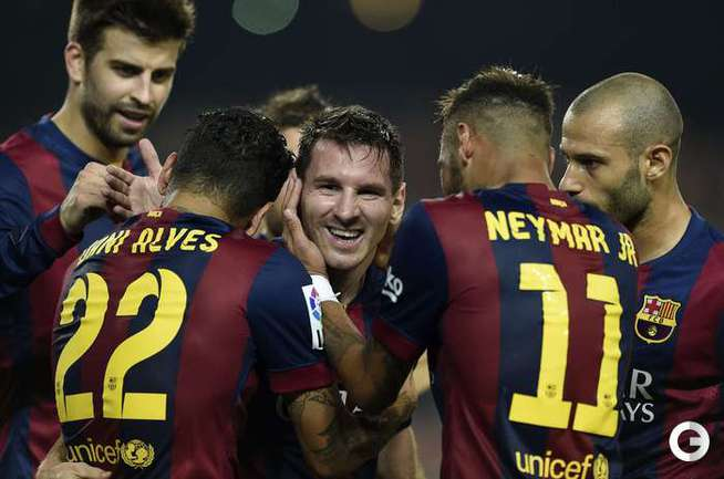 Месси забил 250-й гол в чемпионате Испании
