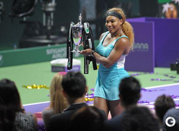 Серена Уильямс - победительница итогового турнира года