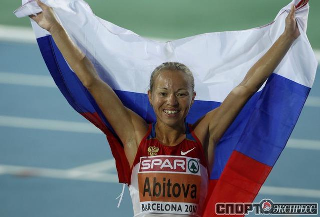 Инга Абитова - серебро в беге на 10.000м.