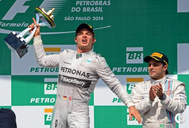 """Росберг выиграл """"Гран-при Бразилии"""", Квят - 11-й"""