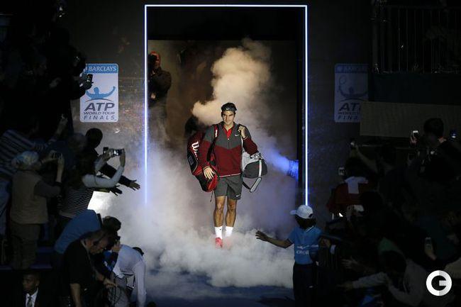 Федерер одержал вторую победу на итоговом турнире года