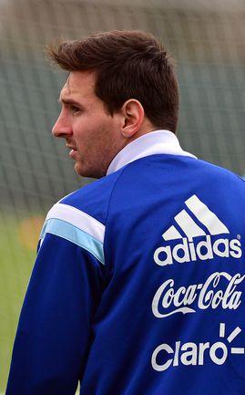 Месси и сборная Аргентины тренируется в Манчестере