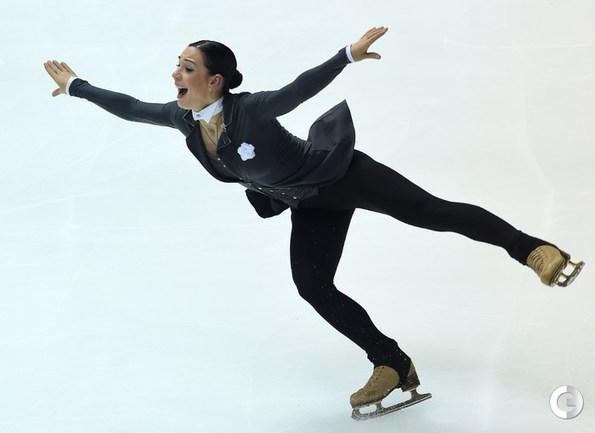 Леонова стала второй в короткой программе в Японии