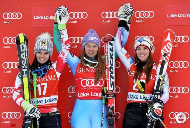 Мазе стала победителем в скоростном спуске на этапе Кубка мира, Вонн - восьмая