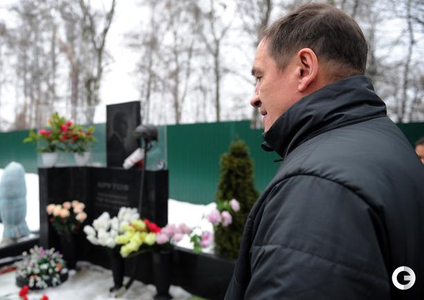 Наставник молодежной сборной Валерий БРАГИН.