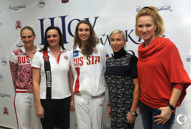 Ищенко и Ромашина на шоу олимпийских чемпионов