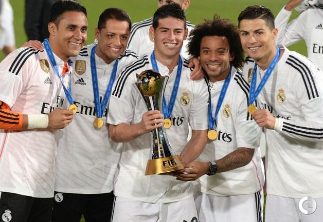 """""""Реал"""" - победитель клубного чемпионата мира."""
