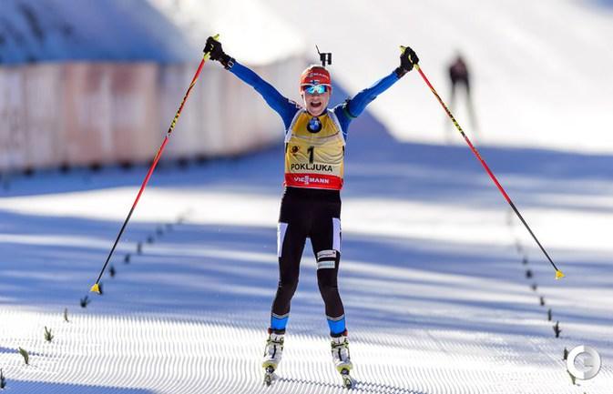 Мякяряйнен выиграла масс-старт в Поклюке