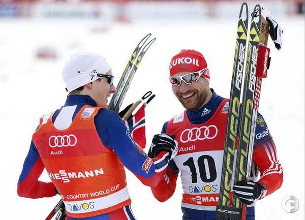 Бронзовый призер Финн Крог и Алексей Петухов.