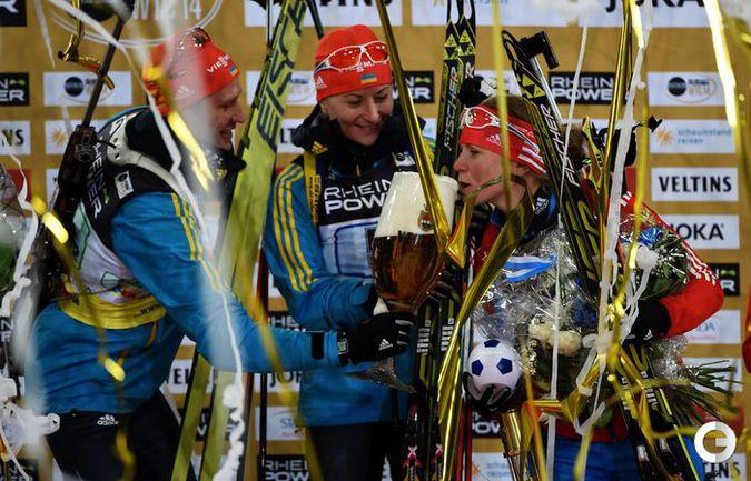 Романова и Гараничев - 3-и на Рождественской гонке