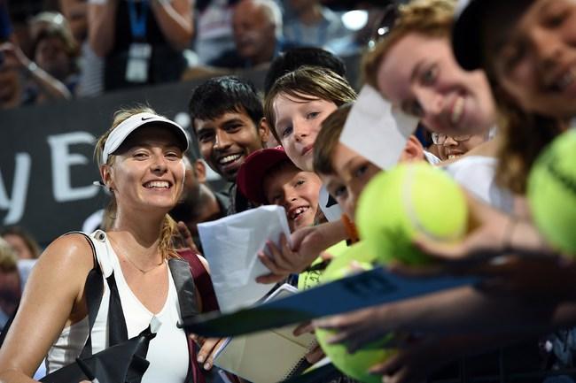 Шарапова вышла в четветьфинал турнира в Брисбене
