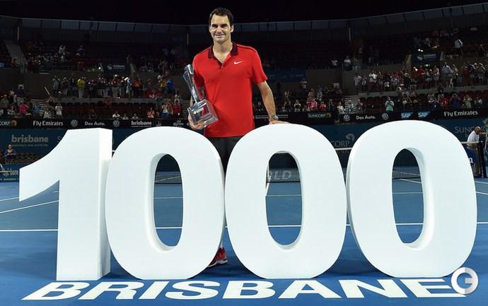 Федерер одержал 1000-ю победу в карьере