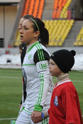 Надин Кесслер - игрок года по версии ФИФА в женском футболе