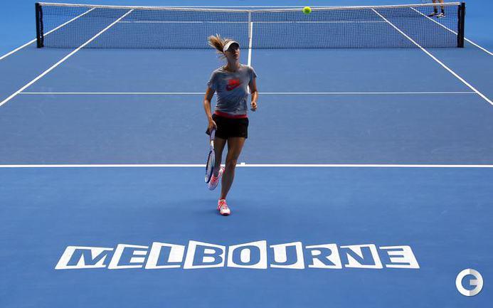 Мария Шарапова готовится к Australian Open