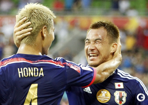 Голы Хонды и Кагавы принесли Японии победу над Иорданией