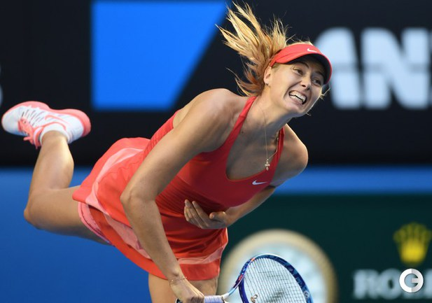 Шарапова - в четвертом круге Australian Open