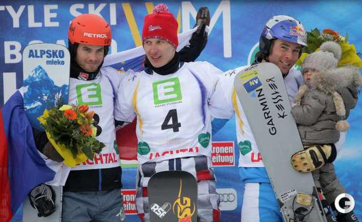 Соболев - чемпион мира в параллельном гигантском слаломе.