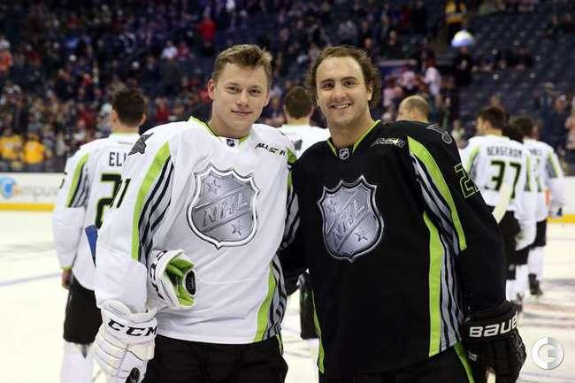 Овечкин и Тарасенко - семь передач в Матче звезд НХЛ