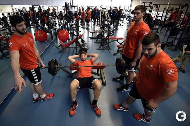 Франция готовится к Кубку Шести наций по регби