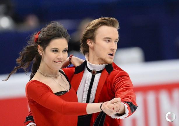 Ильиных и Жиганшин - вторые после короткого танца