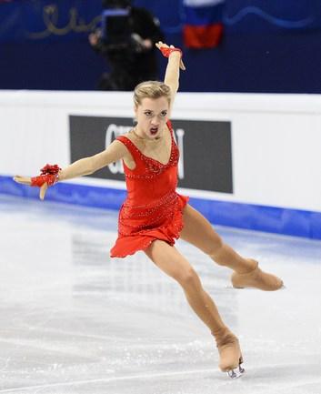 Россиянки - на пьедестале в короткой программе