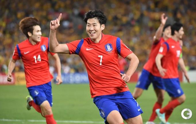 Сборная Австралии - победитель Кубка Азии. Фото AFP