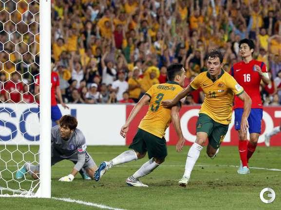 Сборная Австралии - победитель Кубка Азии. Фото REUTERS