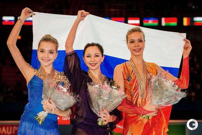 Россиянки заняли весь пьедестал почета на ЧЕ-2015