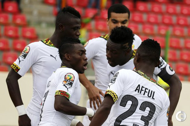 Сборная Ганы - в полуфинале Кубка Африки