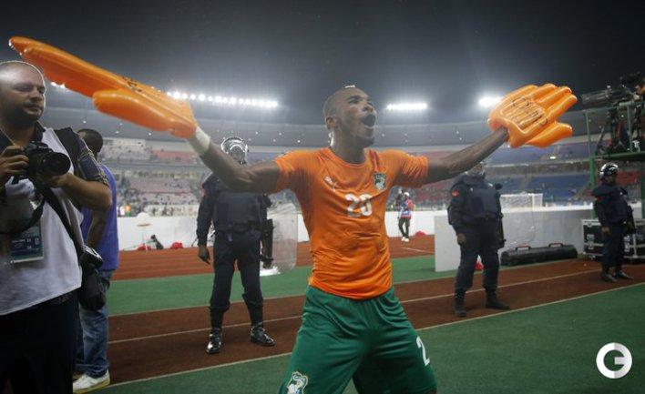 Кот-д`Ивуар и без Думбья пробился в финал Кубка Африки