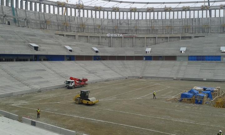 """Поле стадиона """"Краснодар"""" начнут укладывать в феврале"""