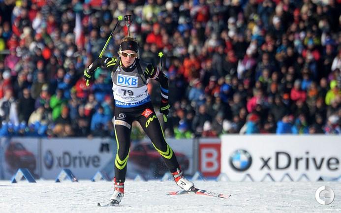 Дальмайер - первая в спринте, россиянки без пьедестала