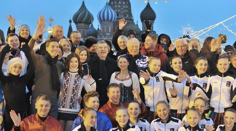 Юлия Липницкая выступила на юбилее Виталия Смирнова