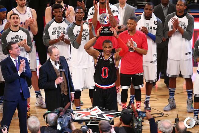 Запад обыграл Восток в Матче всех звезд НБА